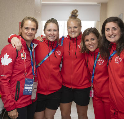 The Governor General met with athletes.