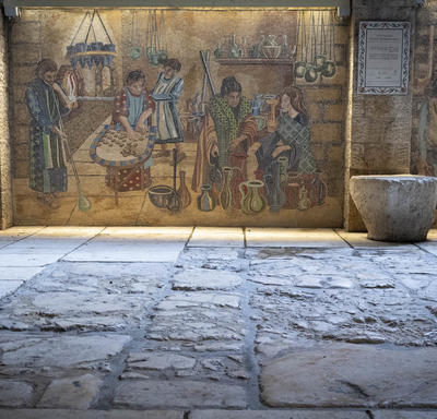 A photo of the Old City in Jerusalem.