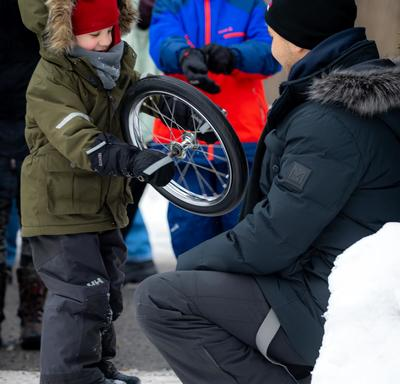 Winter Celebration is an event where visitors can discovering over 25 activities and winter traditions.