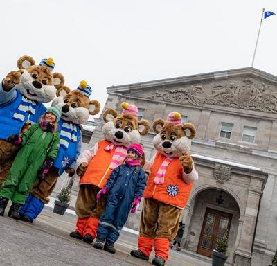 For the second year in a row, Winter Celebration was presented in partnership with Winterlude.