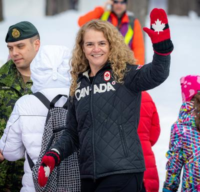 The Governor General of Canada had the opportunity to meet with participants and partners of the event.