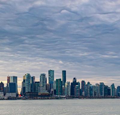 A photo of the Vancouver landscape.