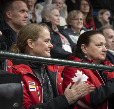 The Governor General cheers on athletes at the Special Olympics Canada Winter Games Thunder Bay 2020 Opening Ceremony.