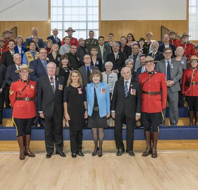 The Governor General presents honours on behalf of all Canadians in communities across the country to help share inspiring stories, celebrate tremendous contributions to our society and connect with Canadians.