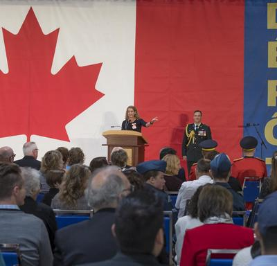 The Governor General offered opening remarks and congratulated the recipients on their excellence, courage or exceptional dedication to service.