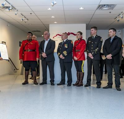 The second commendation was presented to the citizens of the City of Humboldt and the surrounding areas, who demonstrated solidarity, strength and resiliency by offering steady support to the families of the victims.