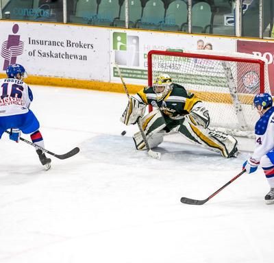 The Broncos faced the Melville Millionaires and won the game 6-3.