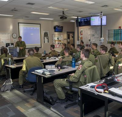 CFB 15 Wing is the centre of Royal Canadian Air Force aircrew training and 431 Air Demonstration Squadron.
