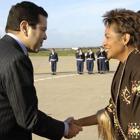 Visite d'Amitié de la gouverneure générale au Royaume du Maroc