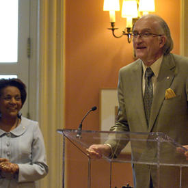 Vernissage of the Trace Elements: Selections from The Rooms Provincial Art Gallery Exhibit at Rideau Hall