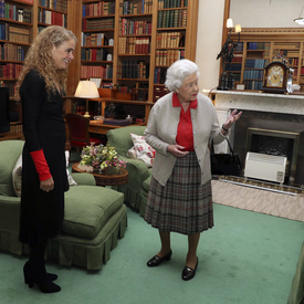 First Audience with Her Majesty The Queen