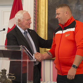 Meeting with Team Canada Invictus Games Competitors