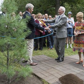Ceremonial Tree Planting