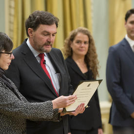 Swearing-In Ceremony of Chief Justice of Canada
