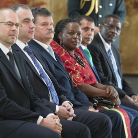 Presentation of Letters of Credence at the Citadelle of Québec