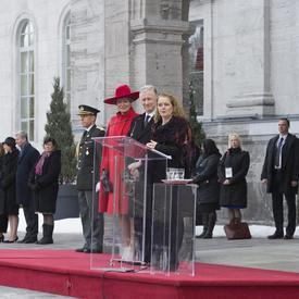 Visite d'État du Roi et de la Reine des Belges