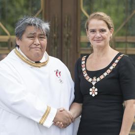 Investiture au sein de l'Ordre du Canada