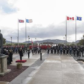 Le 20 septembre 2018, Son Excellence a été officiellement accueillie dans la province de Terre-Neuve-et-Labrador avec une cérémonie au cours de laquelle elle a reçu des honneurs militaires comprenant une garde d'honneur, le salut vice-royal et une salve d
