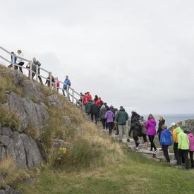 This hike was part new initiative called GGActive, which aims to promote health and fitness.