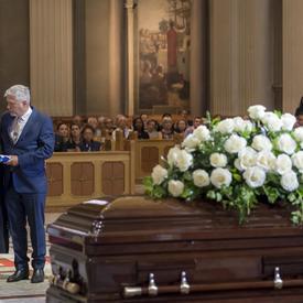 Funeral of Paul Gérin-Lajoie