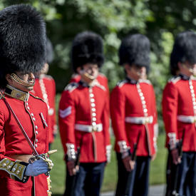 Inspection of the Ceremonial Guard