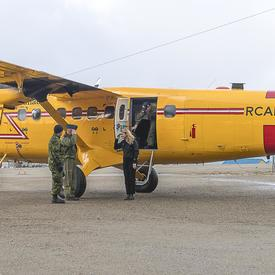 The Governor General arrived in the Hamlet of Pangnirtung, in Nunavut, to meet with members of the community. She will be in Canada's Arctic, from August 30 to September 1, 2018, where she will also be boarding the Canadian research icebreaker CCGS Amunds