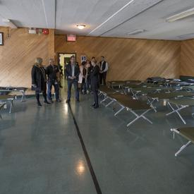 Visits to Shelters in Ottawa and Gatineau