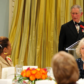 VISIT OF THE PRINCE OF WALES AND THE DUCHESS OF CORNWALL - Official Dinner