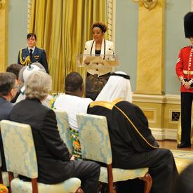 Presentation of Credentials at Rideau Hall