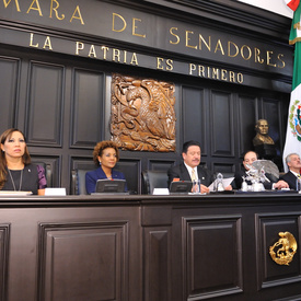 STATE VISIT TO THE UNTED MEXICAN STATES - Speech at the Senate