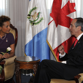 STATE VISIT TO THE REPUBLIC OF GUATEMALA - Official Welcoming Ceremony