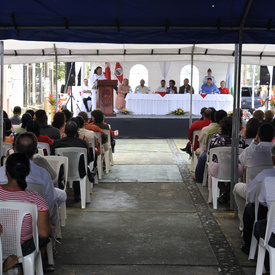 STATE VISIT TO THE REPUBLIC OF COSTA RICA - Community Event in Puerto Limón