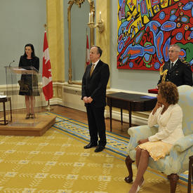 Presentation of the Vanier Medal