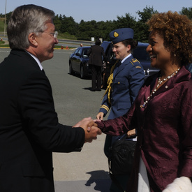 VISIT TO N.L. - Meeting with Premier Danny Williams