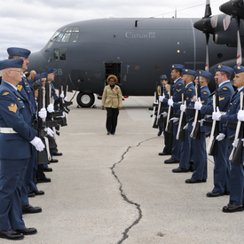 VISIT TO N.L. - 5 Wing Goose Bay