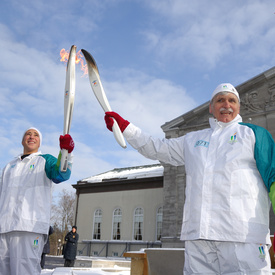 Olympic Flame at Rideau Hall