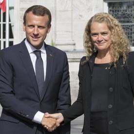 Rencontre avec le président de la République française