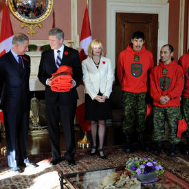 VISIT OF THE PRINCE OF WALES AND THE DUCHESS OF CORNWALL - Official Meetings