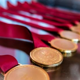 Governor General's History Awards medals.