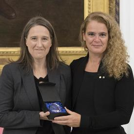 The Connection Award was given to Jennifer Llewellyn, of Dalhousie University, one of the world's leading experts on restorative justice.