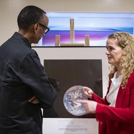 La gouverneure générale a rencontré le président du Rwanda, Paul Kagame, où ils ont discuté des valeurs et des priorités communes.