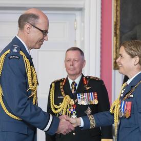 Le brigadier-général Andrew Michael Downes, O.M.M., C.D.