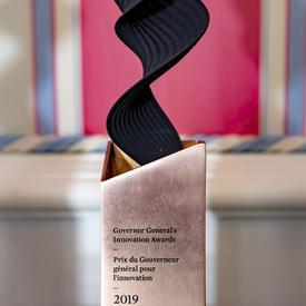 Trophée des Prix d'innovation du Gouverneur général.