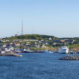 View of the Îles-de-la-Madeleine.