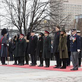 Le Parti vice-royal est solidaire lors de la cérémonie nationale du jour du Souvenir.