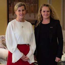 A photo of the Governor General and the Countess of Wessex.