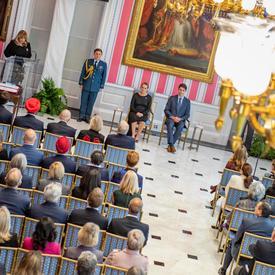 Son Excellence a présidé la cérémonie d'assermentation du 23e premier ministre du Canada et des membres de son Conseil des ministres.
