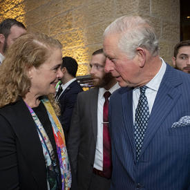 The Governor General and His Royal Highness The Prince of Wales are speaking at the Fifth World Holocaust Forum.