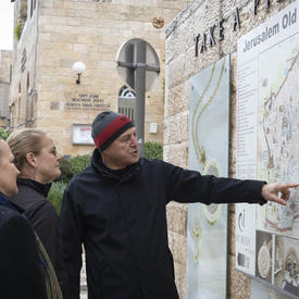 Une photo de la vieille ville de Jérusalem.