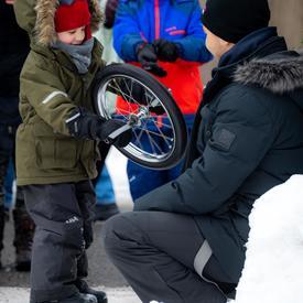 La Célébration hivernale est un lieu où les visiteurs peuvent découvrir plus de 25 activités et traditions hivernales.